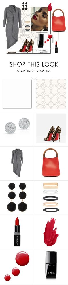 """""""❤️❤️❤️"""" by tinkabella222 ❤ liked on Polyvore featuring Graham & Brown, Anne Sisteron, Christian Louboutin, Vivienne Westwood Anglomania, Marni, Cara Accessories, Accessorize, Smashbox, Topshop and Chanel"""