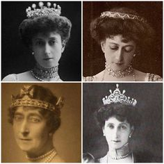 The Tiaras of Queen Maud.