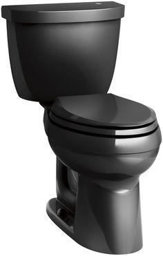 Cimarron Comfort Height 2 Piece Elongated 1.28 GPF Touchless Toilet with Aquapiston Flushing Technology