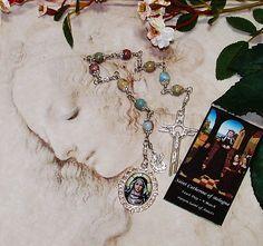 Unbreakable Catholic Chaplet of St. Catherine of Bologna - Patron Saint of…