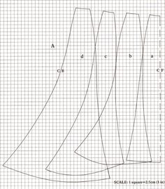 hunnisett 1902 fluted skirt pattern