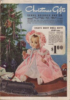 Image detail for -Vintage Advent Calendar - Dec 17th 1940 Sears Christmas Catalogue