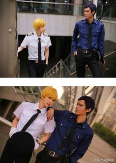 These guys look so much like anime characters, they're getting huge attention in the cosplay world