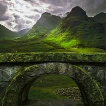 Glencoe, Scotland. I'm missing the highlands today, and it's all @kimharbert's fault!