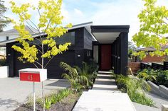 Contemporary New House in Pt Chevalier - contemporary - Exterior - Auckland - Architecture Smith + Scully Ltd