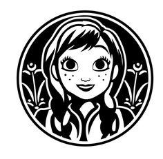 Anna SVG, Disney svg, Frozen SVG, Princess svg, Princess Disney, Anna – MamyLab Frozen Silhouette, Princess Silhouette, Disney Silhouette Art, Silhouette Studio, Disney Fantasy, Cricut Vinyl, Vinyl Decals, Cricut Craft, Cricut Ideas
