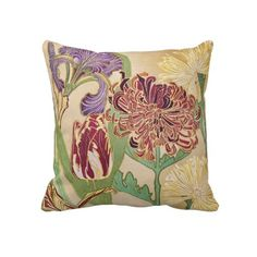 New Spring Flowers American MoJo Pillows