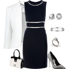 Healthy living at home devero login account access account White Fashion, Work Fashion, Fashion Outfits, Womens Fashion, Summer Work Outfits, Dressy Outfits, Polyvore Fashion, Polyvore Outfits, Power Dressing