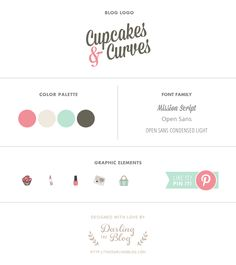 Recent Work: Blog Design for Cupcakes