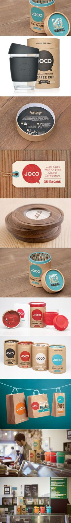 JOCO Coffee Cup — The Dieline | Packaging & Branding Design & Innovation News