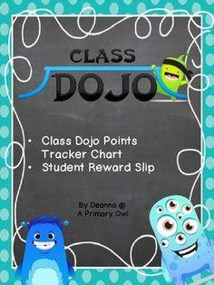 Class Dojo Points Tracker Behavior Management, Classroom Management, Dojo Points, Student Rewards, Class Dojo, Responsive Classroom, Numeracy, School Classroom, Teaching Ideas