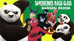PO Funny in Superheroes Magic Class! Baby Learn Colors with Po Kungfu Pa...