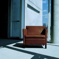 Mies van der Rohe Krefeld Lounge Chair Camel Leather Knoll