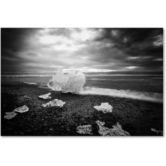 Trademark Fine Art 'Ice World' Canvas Art by Philippe Sainte-Laudy, Size: 16 x 24, Multicolor