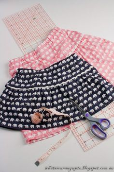 Tutorial - Elephant Skirt with Secret Pockets …Shhhhh!