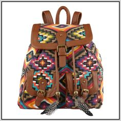 Womens Small Backpack Purse