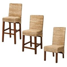 Seagrass chairs from Target