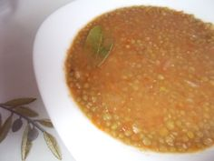 Lentil Soup | Greek Food