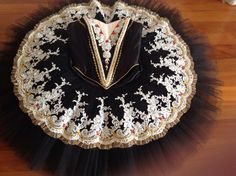Black traditional Spanish tutu