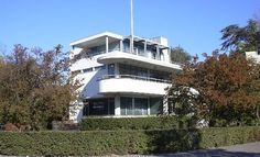 Sonneveld House. Nieuwe Bouwen style, the Dutch branch of the International School of Modernism. It was designed by the architecture firm of Brinkman & Van der Vlugt finished in 1933 in Rotterdam.