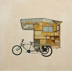 Full Time RV Road Warriors: Pedal Powered Trike Camper and Bicycle Camper