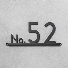 House Numbers Channel Bracket Black 3 Spaces - Hearth & Hand™ With Magnolia : Target 6 House Number, House Number Plates, Metal House Numbers, Door Numbers, Address Numbers, House Address Sign, Address Signs, Architectural Mailboxes, Chip And Joanna Gaines