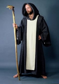Renaissance Medieval Monk Priest Friar Mens Clothing   Vowed to no order...