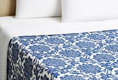 Great for your bedroom. Deborah Quilt, Blue on OneKingsLane.com