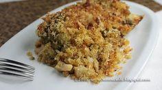 Broccoli Siciliani o Cavolo Romano al Gratin con Peperoncino e Mollica di Pane