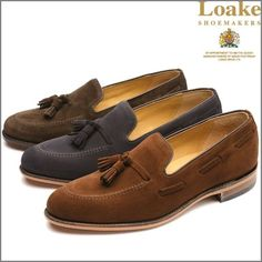 Loake Lincoln Tassel Loafer Shoe,