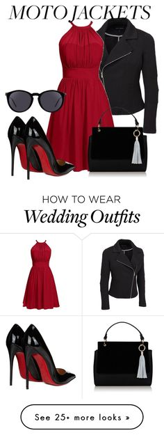 """""""Untitled #112"""" by katty-kat-537 on Polyvore featuring Christian Louboutin, Yves Saint Laurent and plus size clothing"""