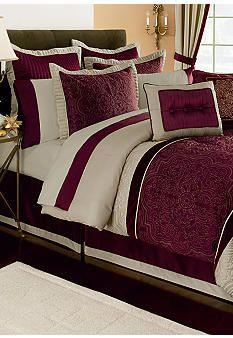 Home Accents® Corinthia 8-piece Comforter Set #belk #bedding
