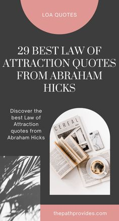 Discover 29 Abraham Hicks Quotes to inspire you to manifest your dreams to reality. abraham hicks quotes, abraham hicks quotes law of attraction, abraham hicks affirmations, abraham hicks quotes happiness, law of attraction quotes, manifestation law of attraction quotes, lawofattractionquote #manifestingquote #pinkquote #abrahamhicksquote #abrahamhicks #estherhicks #thepathprovides Manifestation Law Of Attraction, Law Of Attraction Affirmations, Law Of Attraction Quotes, Law Quotes, Pink Quotes, Abraham Hicks Quotes, Manifesting Money, Happiness, Inspirational Quotes