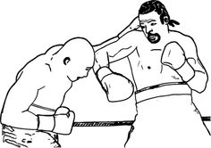 Avoid Boxing Bouts Of Intense Coloring Pages Boxing Day, Two Men, Coloring Pages For Kids, Fictional Characters, Art, Art Background, Children Coloring Pages, Colouring Pages For Kids, Kunst