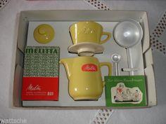 Melitta-Minden-Kaffee-Filka-Filter-und-Kanne-fuer-Kinder-altgelb-in-OVP