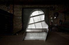 maciej markowicz's leaning piano for wiczny premieres at ICFF 2015
