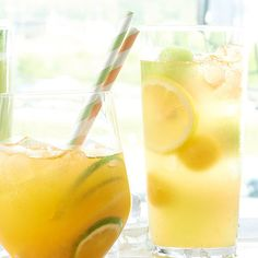 Lavender Peach Lemonade. The secret to our fantastic peach lemonade is the homemade chamomile-lavender simple syrup. Pour into ice-filled glasses on a hot day, and enjoy every last soothing sip.