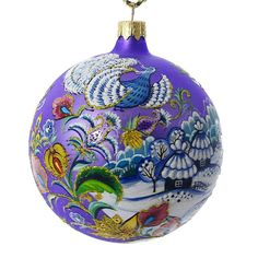 Image result for ukrainian glass christmas bulbs