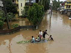 Fresh wave of flood in Assam, over 60 villages under threat