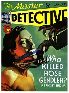 """Guilty Pleasure: Pulp Fiction Covers Another """"guilty pleasure that I will readily admit to is that of illustration. As Modernism resulted in a majority of artists abandoning art rooted in a believable. Pulp Magazine, Book And Magazine, Magazine Covers, Magazine Art, 70s Sci Fi Art, Pulp Fiction Book, True Detective, Weird Stories, Book Cover Art"""