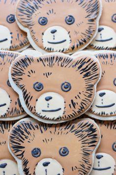 Corduroy Bear Cookies