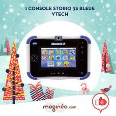 la console Storio 3S Bleue VTech: http://www.maginea.com/fr/fr/c5177/p201306130057/console+storio+3s+bleue+power+pack/