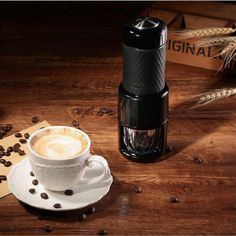 111.11$  Watch now - http://ali9jz.worldwells.pw/go.php?t=32792850262 - Portable multifunctional mini coffee maker Manual concentrated Espresso Cappuccino cold brew coffee machine all in one 111.11$