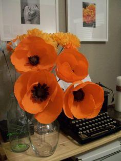 Memorial Day DIY poppies