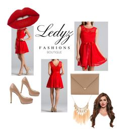 Ledyz Fashion Red Lace Dress by kiaharper on Polyvore featuring polyvore fashion style.... We love to see how Ledyz Fashions fans use our dresses and gowns in their fashion sets. Beautiful♡♡♡ Shop all the dresses and gowns at www.ledyzfashions.com #ledyzfashions #loveledyzfashions #dress #dresses #gown #gowns #lace #beautuliful #stunning #sexy #inspiration #cute #evening #nightout #nightdresses #party #formal #club #cocktaildress #summer #bridesmaid #fashion #woman #womensfashion