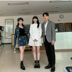 Image may contain: one or more people, people standing and shoes K Pop, Drama Korea, Korean Drama, Sulli Choi, Luna Fashion, O Drama, Pretty Men, Korean Celebrities, Sully
