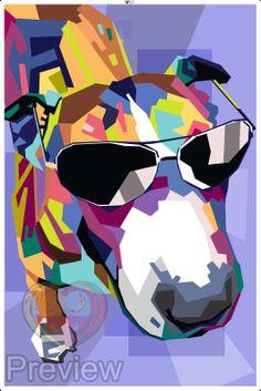 Je eigen pop-art. Made by Personal-art.nl Nu met kortingcode NLSINTERKLAAS