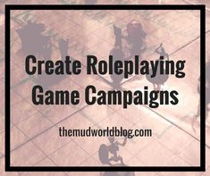Creating new roleplaying game campaigns requires three decisions: create characters, pick a setting, and pick a story or at least a theme. You can do this in any order you like, or all at once. I'll discuss one possible way to do this in the following post. For Dungeons and Dragons, Pathfinder Roleplaying Games and similar systems.