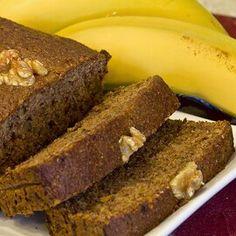 Gluten-Free Vegan Banana Nut Bread Janet's Rich Banana Bread Recipe, Nut Bread Recipe, Moist Banana Bread, Vegan Banana Bread, Vegan Bread, Banana Bread Recipes, Apple Bread, Healthy Snacks For Diabetics, Printables