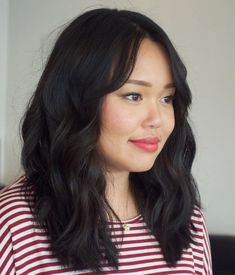 40 Stunning Medium Hairstyles for Round Faces Medium Wavy Cut For Thick Hair And Round Face Related posts: Ideas Hairstyles For Medium Length Hair Kids Round Faces Long Hairstyles For Round Faces Medium Hair Round Face, Round Face Haircuts Medium, Bangs For Round Face, Hairstyles For Round Faces, Medium Hair Cuts, Long Hair Cuts, Medium Hair Styles, Cool Hairstyles, Long Hair Styles